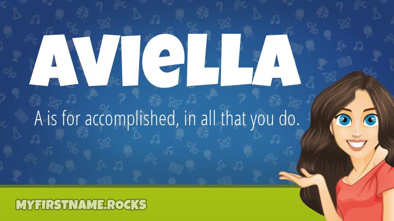 My First Name Aviella Rocks!