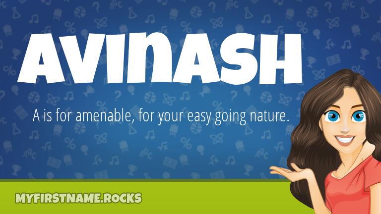 My First Name Avinash Rocks!