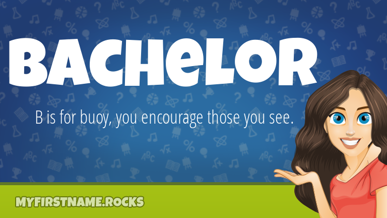 My First Name Bachelor Rocks!