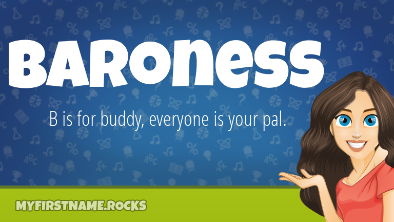 My First Name Baroness Rocks!