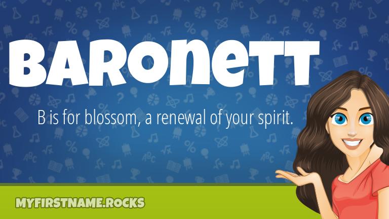 My First Name Baronett Rocks!