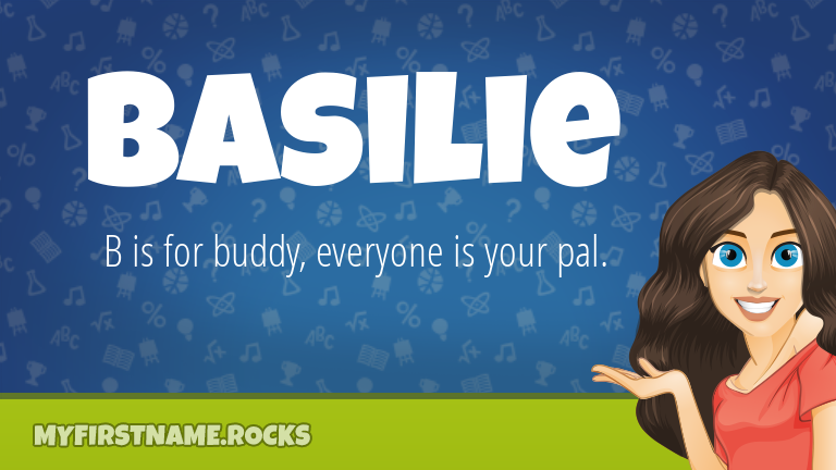 My First Name Basilie Rocks!