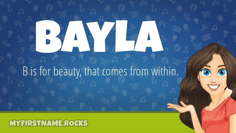 My First Name Bayla Rocks!