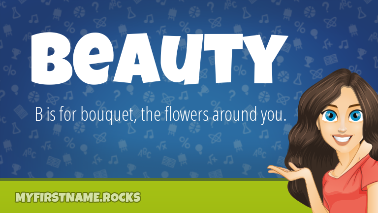 My First Name Beauty Rocks!