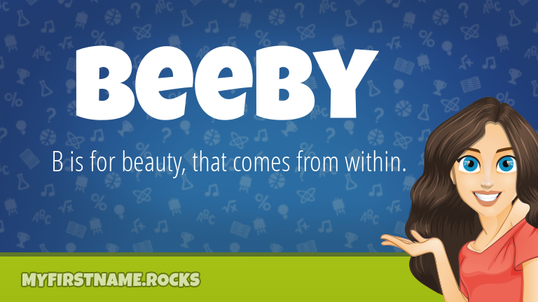 My First Name Beeby Rocks!