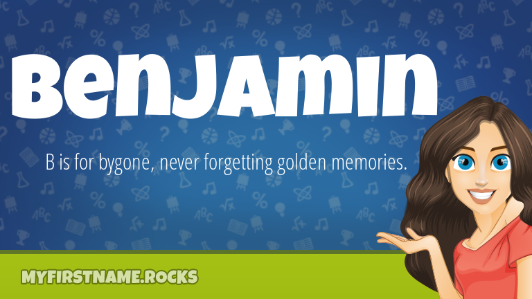My First Name Benjamin Rocks!