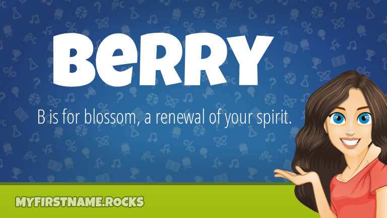 My First Name Berry Rocks!