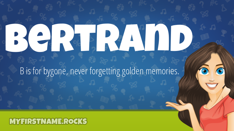 My First Name Bertrand Rocks!