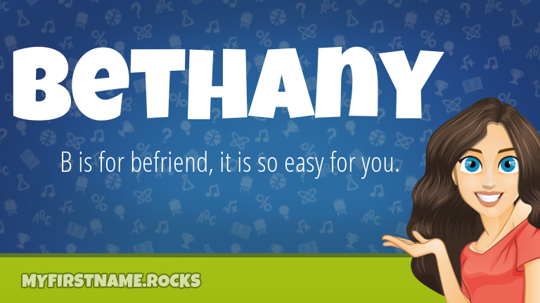 My First Name Bethany Rocks!
