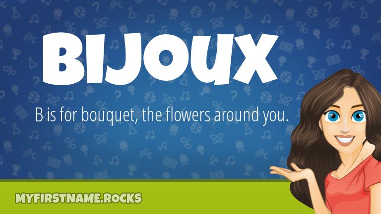 My First Name Bijoux Rocks!