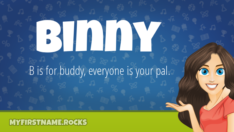 My First Name Binny Rocks!