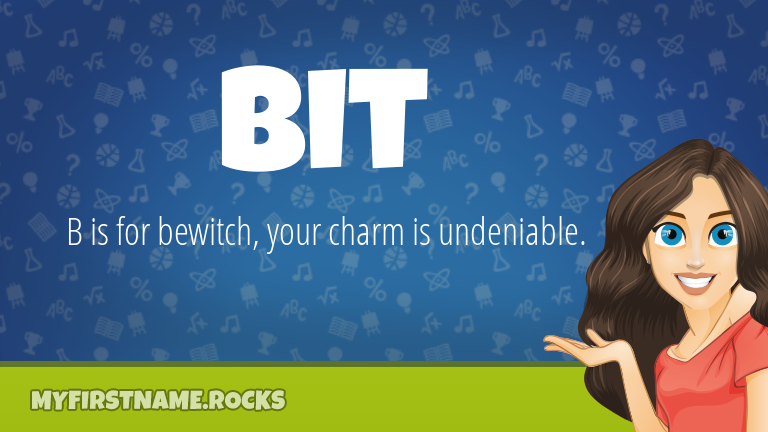 My First Name Bit Rocks!