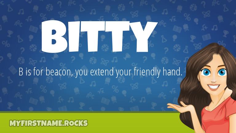 My First Name Bitty Rocks!
