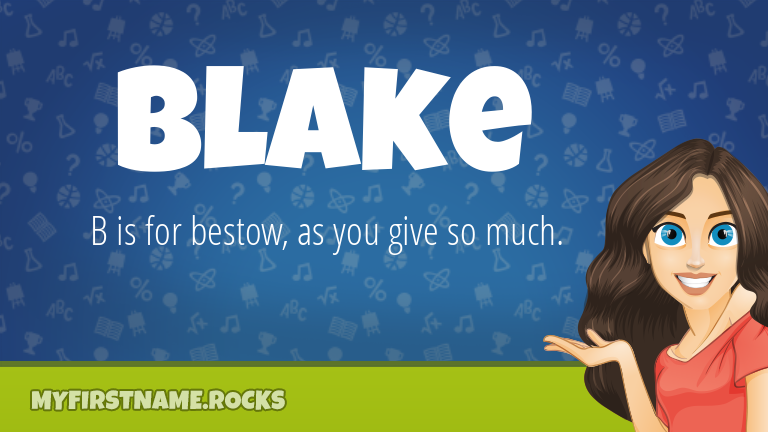 My First Name Blake Rocks!