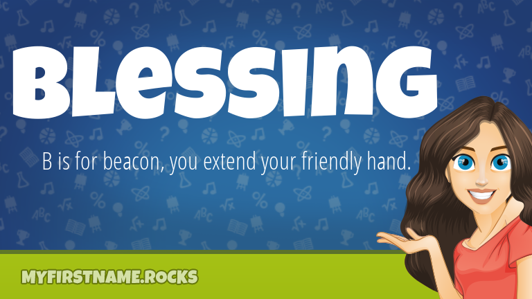 My First Name Blessing Rocks!