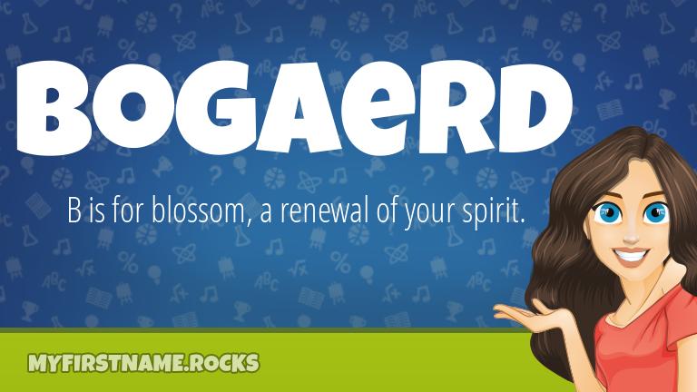 My First Name Bogaerd Rocks!