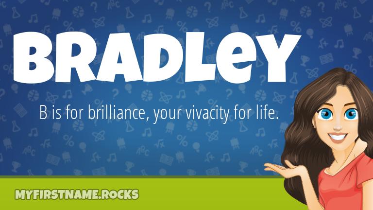 My First Name Bradley Rocks!