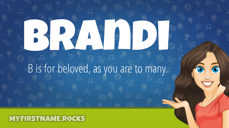 My First Name Brandi Rocks!