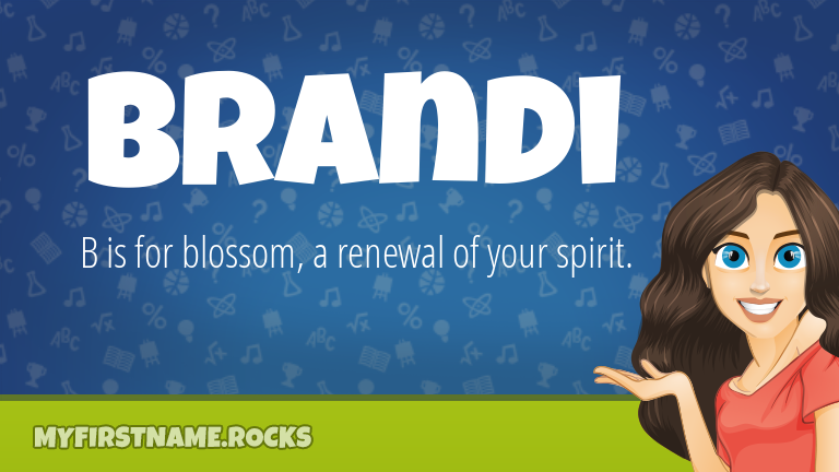 My First Name Brandi Rocks!