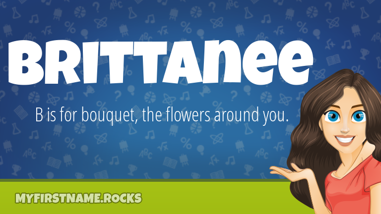 My First Name Brittanee Rocks!