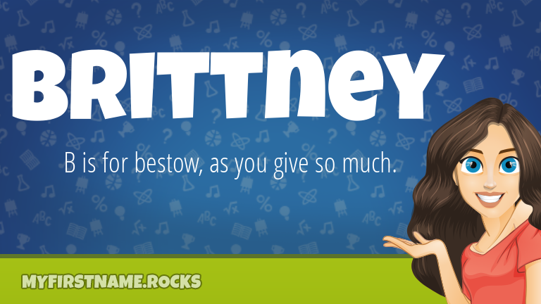 My First Name Brittney Rocks!