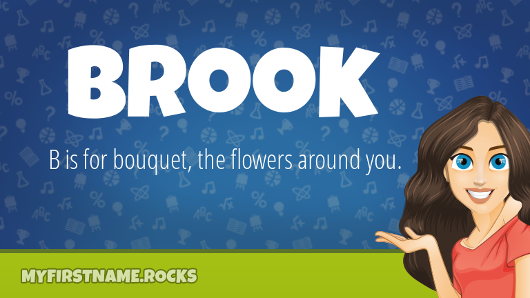 My First Name Brook Rocks!