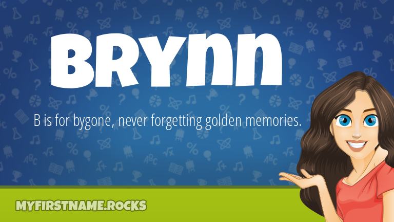 My First Name Brynn Rocks!