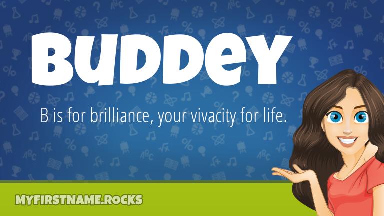 My First Name Buddey Rocks!