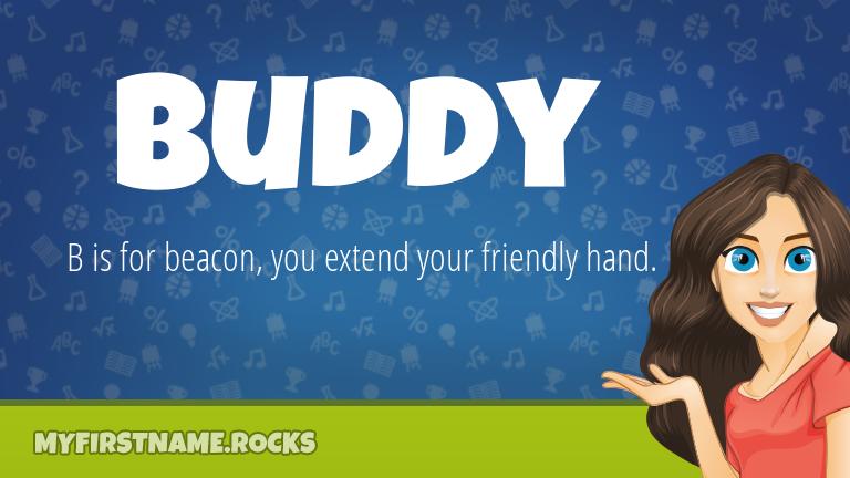 My First Name Buddy Rocks!