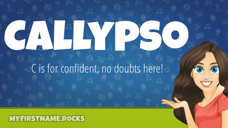 My First Name Callypso Rocks!