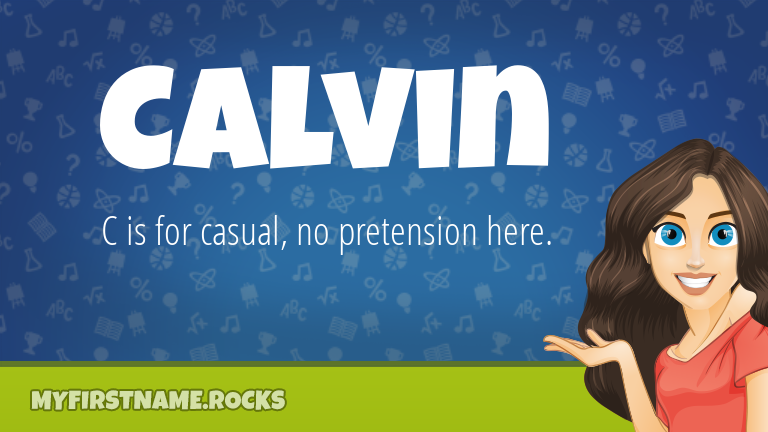 My First Name Calvin Rocks!