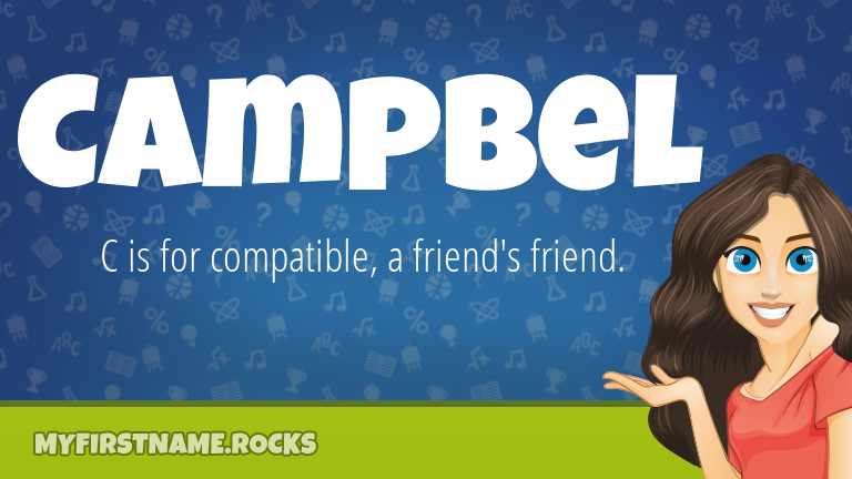 My First Name Campbel Rocks!