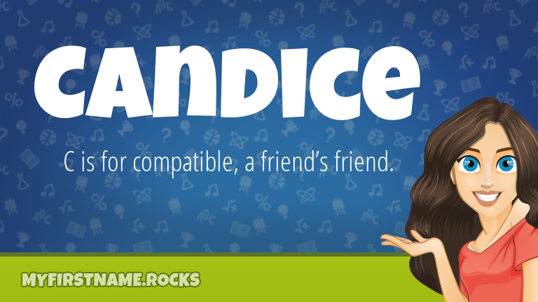 My First Name Candice Rocks!