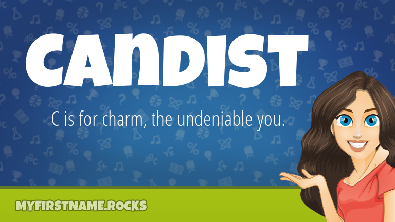 My First Name Candist Rocks!