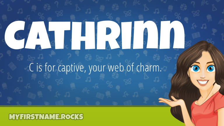 My First Name Cathrinn Rocks!