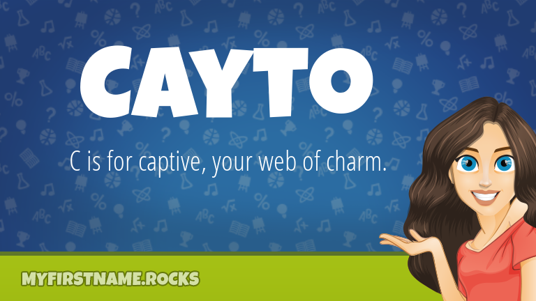 My First Name Cayto Rocks!