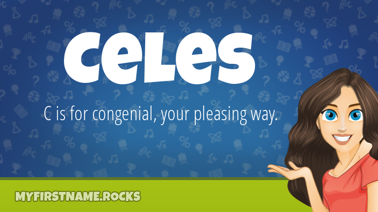 My First Name Celes Rocks!