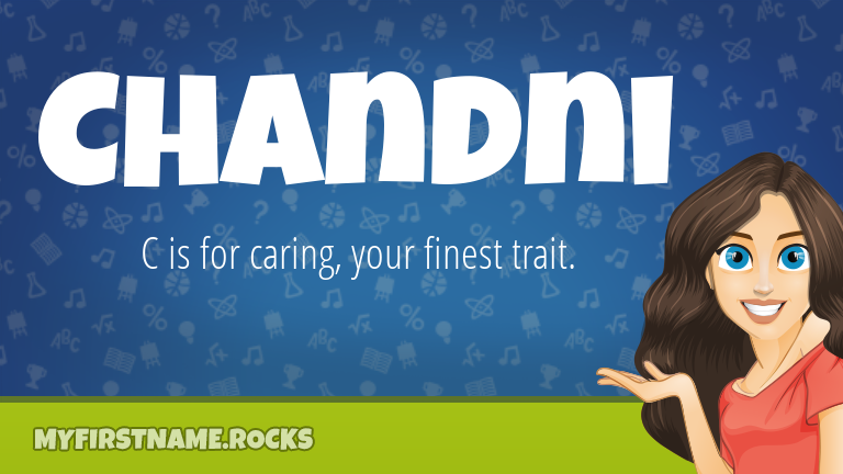 My First Name Chandni Rocks!