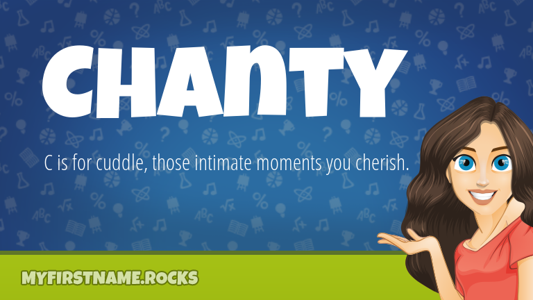 My First Name Chanty Rocks!