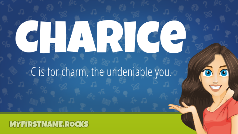 My First Name Charice Rocks!