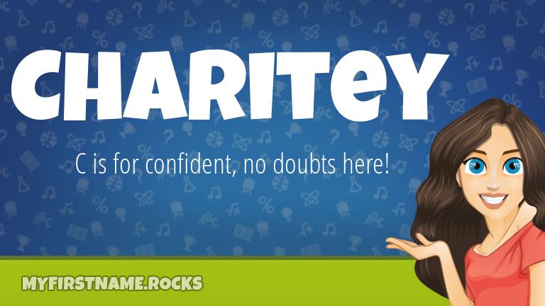 My First Name Charitey Rocks!