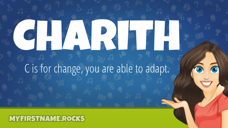My First Name Charith Rocks!
