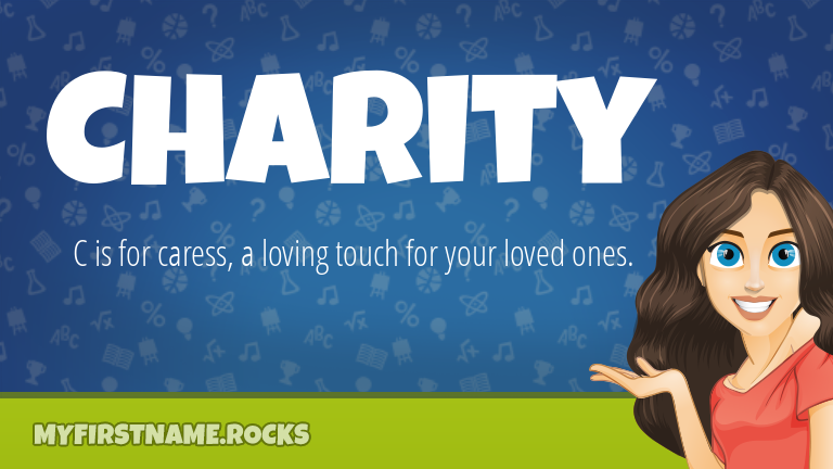 My First Name Charity Rocks!
