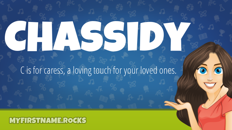 My First Name Chassidy Rocks!