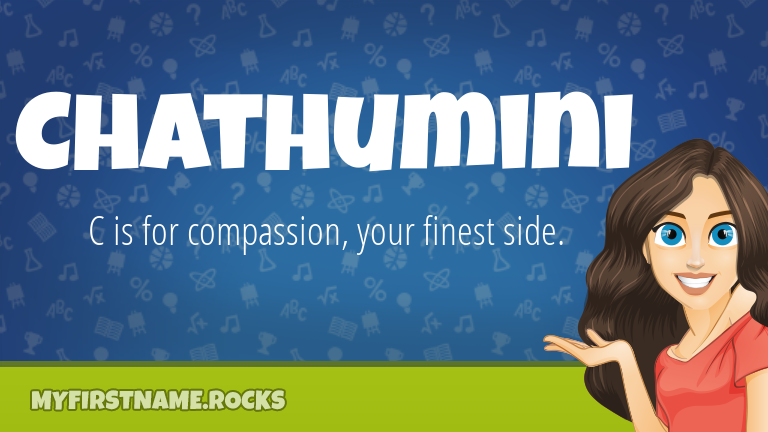 My First Name Chathumini Rocks!