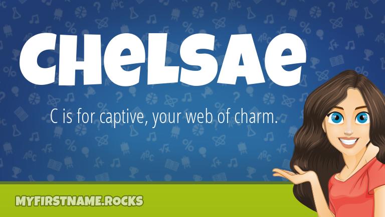 My First Name Chelsae Rocks!
