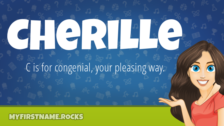 My First Name Cherille Rocks!