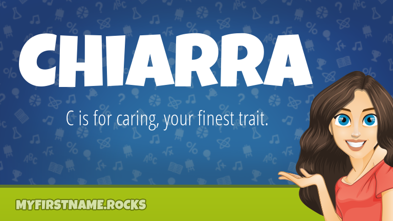 My First Name Chiarra Rocks!