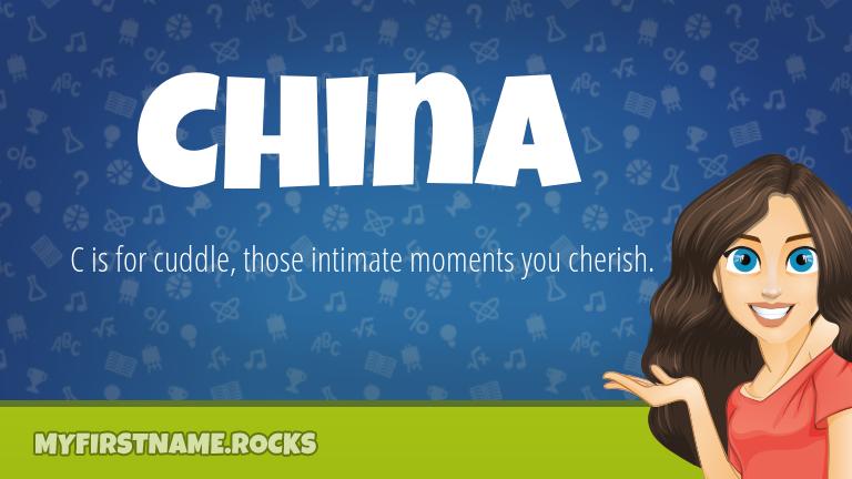 My First Name China Rocks!