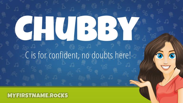 My First Name Chubby Rocks!